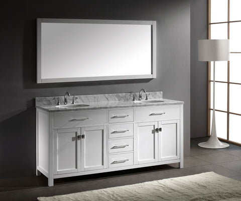 "72"" Double Bathroom Vanity MD-2072-WMRO-CG"