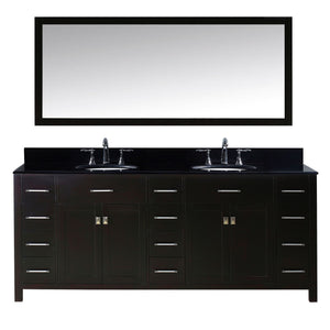 "78"" Double Bathroom Vanity"