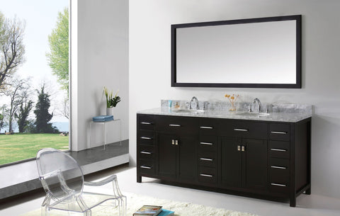 "Image of 93"" Double Bathroom Vanity MD-2193-WMRO-ES"