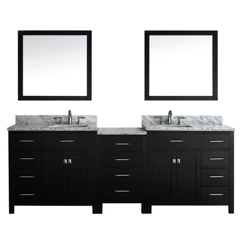 "93"" Double Bathroom Vanity MD-2193-WMSQ-ES"