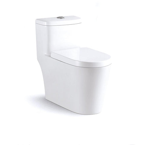 Alya Bath ALYA-OPT-1002 1.37 GPF Dual Flush One Piece Toilet ALYA-OPT-1002
