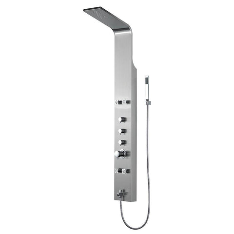 Alya Bath ALYA-RCSP1006 Reinfall Thermostatic Shower Panel ALYA-RCSP1006