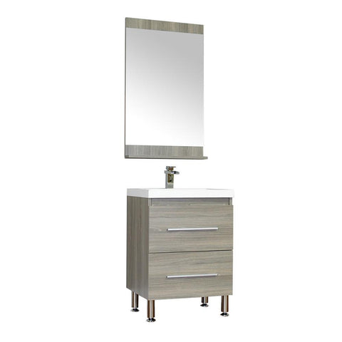 "Image of Alya Bath Ripley 24"" Single Modern Bathroom Vanity without Mirror AT-8080-G"