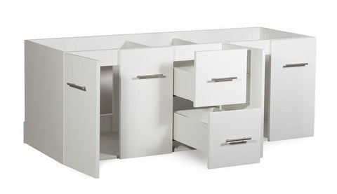 "Image of Amelie 60"" Bathroom Organiser Bath Storage Vintage Vanity Cabinet Only LA222260DA00000"