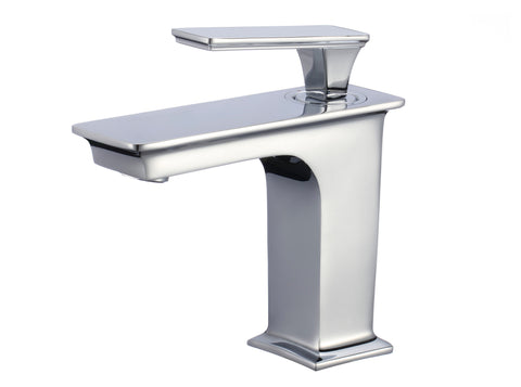 Image of American Imaginations  18.25-in. W Drop In White Vessel Set For 1 Hole Center Faucet - Faucet Included AI-17870
