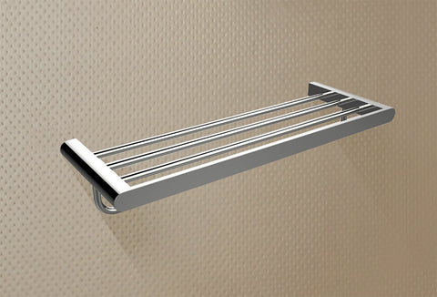 American Imaginations  24-in. Multi-rod Towel Rack In Chrome AI-3060