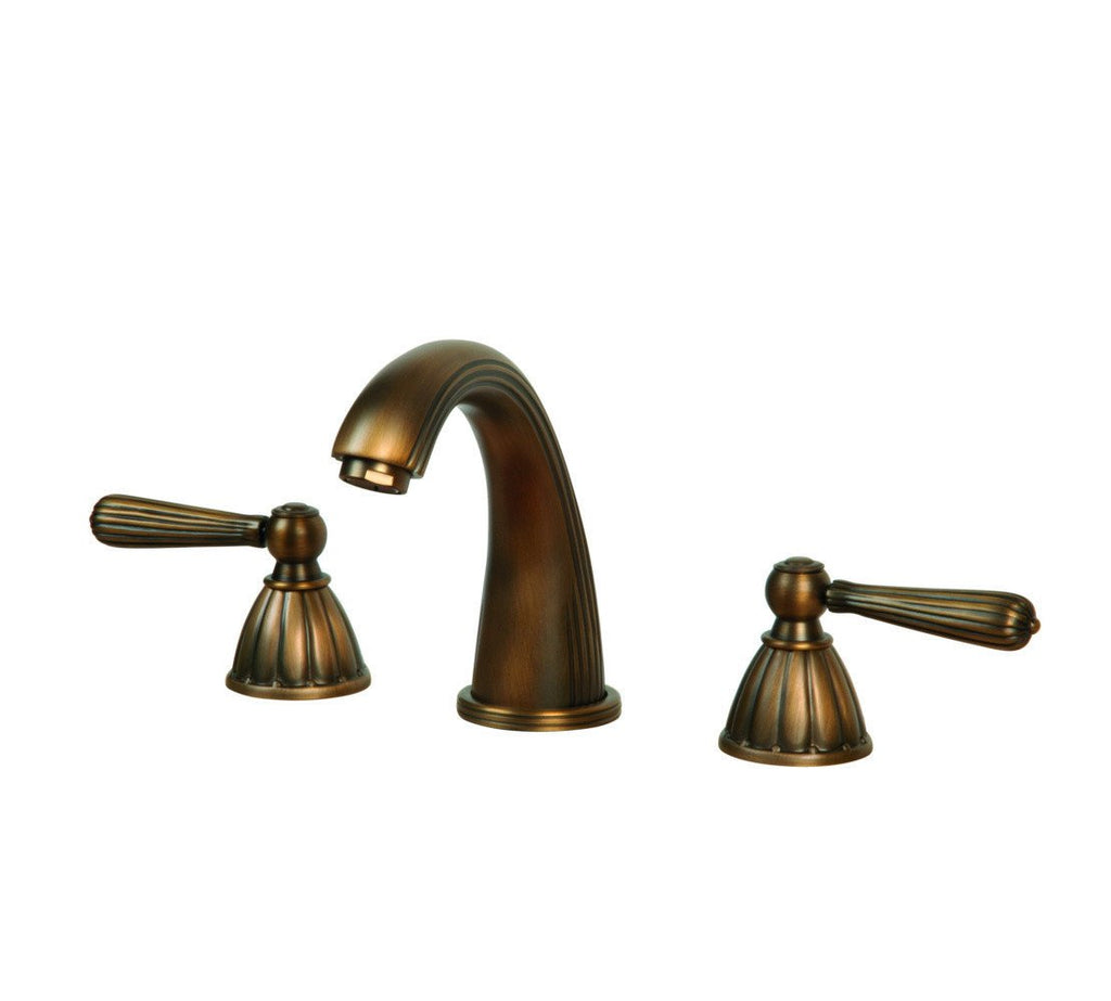 ANTIQUE BRONZE WIDESPREAD FAUCET ZT1078-A