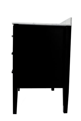 "Belmont Decor Vantage 30"" Single Sink Vanity in Black SM3D2-30-BLK"