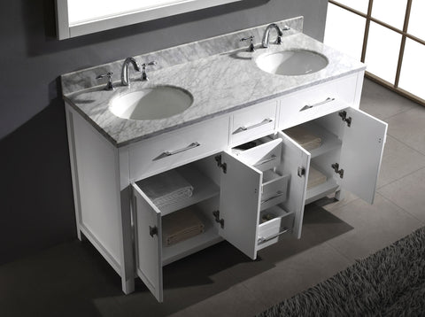 "Image of 60"" Double Bathroom Vanity"