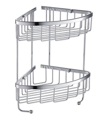 Fresca 2 Tier Wire Basket - Chrome FAC0305CH
