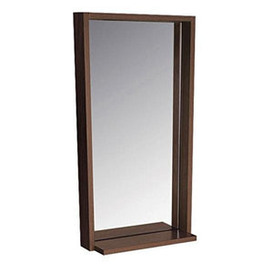 "Fresca Allier 16"" Wenge Mirror with Shelf FMR8118WG"