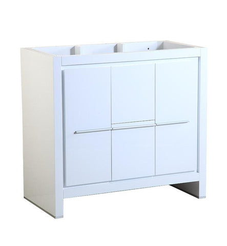 "Image of Fresca Allier 36"" White Modern Bathroom Cabinet FCB8136WH"