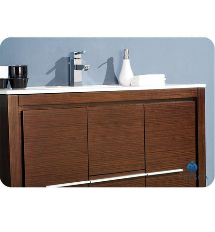 "Image of Fresca Allier 40"" Modern Bathroom Vanity FVN8140GO-FFT1030BN"