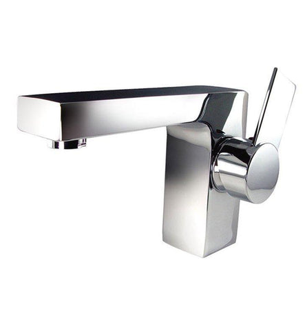 "Image of Fresca Catania 24"" White Bath Bowl Vessel Drain Vanity Set w/ Cabinet & Faucet FVN9224WH-FFT1053CH"