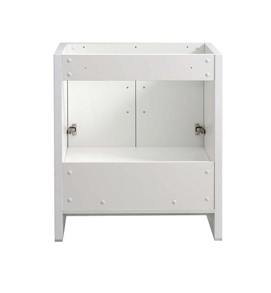 "Fresca Imperia 30"" Glossy White Free Standing Modern Bathroom Cabinet 