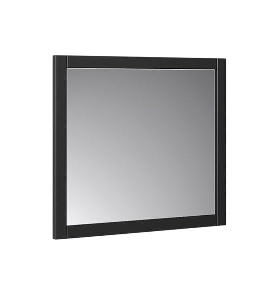 "Fresca Manchester 30"" Black Traditional Bathroom Mirror 