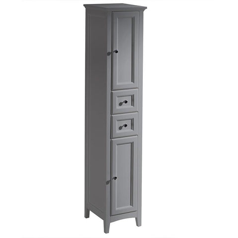 "Fresca Oxford 36"" Gray Traditional Single Bathroom Vanity FVN2036GR"