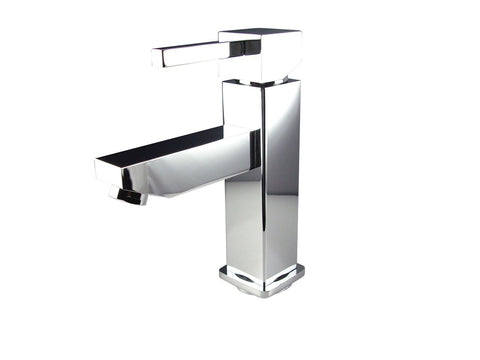 "Image of Fresca Platinum Due 24"" Glossy White Bathroom Vanity FPVN7824WH-FFT1030BN"