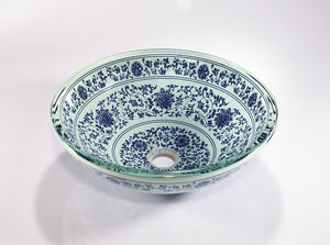 GLASS SINK BOWL ZA-216