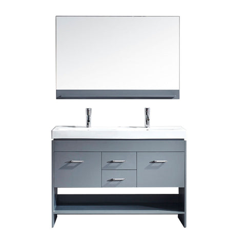 "Gloria 48"" Double Bathroom Vanity MD-423-C-GR"