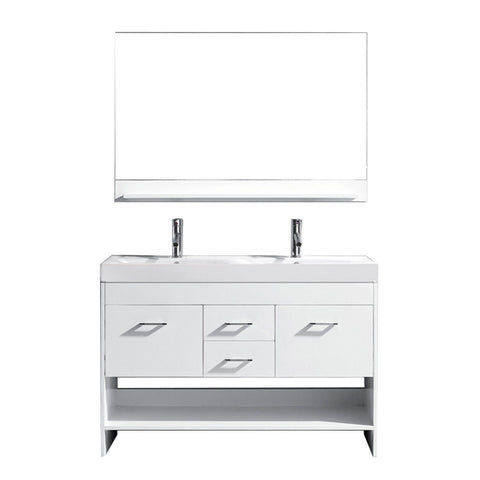 "Gloria 48"" Double Bathroom Vanity MD-423-C-WH"