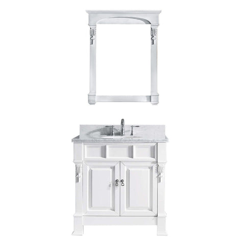 "Huntshire 36"" Single Bathroom Vanity GS-4036-WMRO-WH"