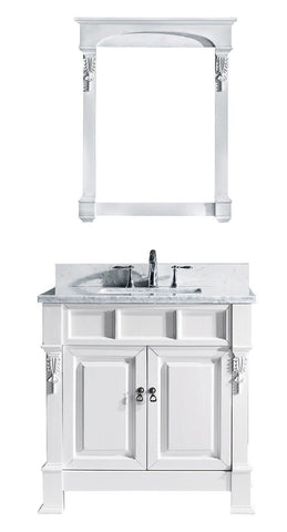 "Huntshire 36"" Single Bathroom Vanity GS-4036-WMSQ-WH"