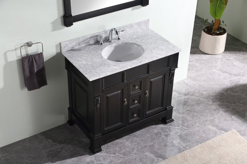 "Huntshire 40"" Single Bathroom Vanity GS-4040-WMRO-DW"