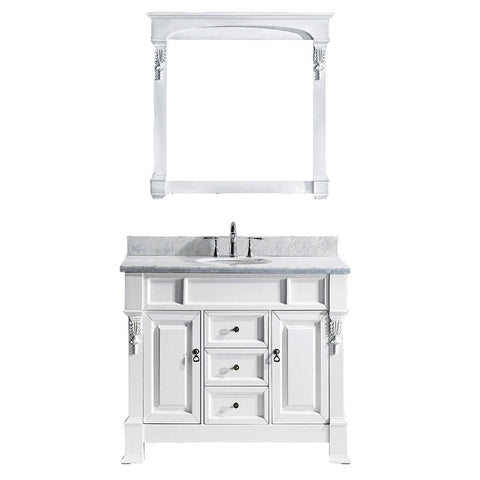"Huntshire 40"" Single Bathroom Vanity GS-4040-WMRO-WH"
