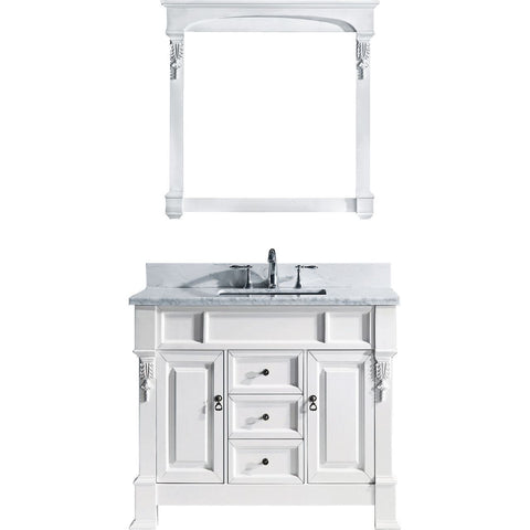 "Huntshire 40"" Single Bathroom Vanity GS-4040-WMSQ-WH"