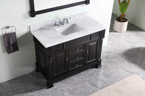 "Huntshire 48"" Single Bathroom Vanity GS-4048-WMRO-DW"