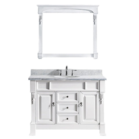 "Huntshire 48"" Single Bathroom Vanity GS-4048-WMRO-WH"