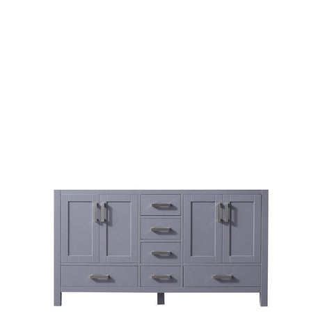 "Jacques 60"" Dark Grey Bathroom Organiser Bath Storage Vintage Vanity Cabinet LJ342260DB00000"