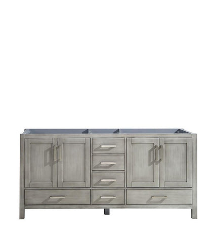 "Jacques 72"" Distressed Grey Bathroom Organiser Bath Storage Vanity Cabinet Only LJ342272DD00000"
