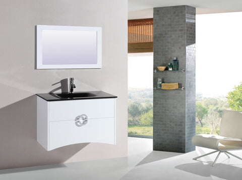 Image of Legion WTH22120A SINK VANITY WITH MIRROR - NO FAUCET - White WTH22120A