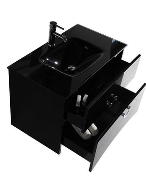 Legion WTH22120B SINK VANITY  WITH MIRROR - NO FAUCET - Espresso