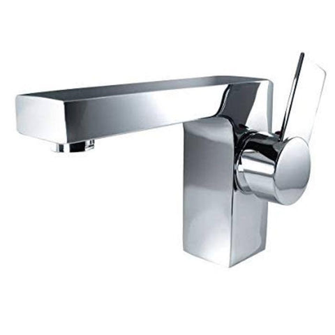 "Lucera 48"" White Modern Wall Hung Double Undermount Sink Bathroom Vanity FVN6148WH-UNS-D-FFT1053CH"