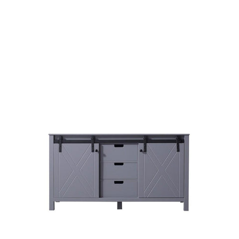 "Marsyas 60"" Dark Grey Bathroom Organiser Bath Storage Vintage Vanity Cabinet LM342260DB00000"
