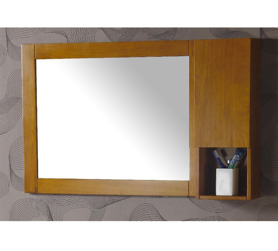 "MIRROR CABINET for 39"" SINK CHEST  - SOLID WOOD - NO FAUCET WA3129-C"