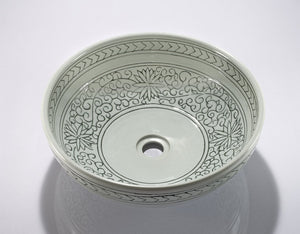 PORCELAIN SINK BOWL ZA-225