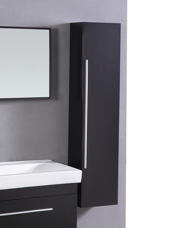 Sink Vanity with Mirror and Side Cabinet- NO FAUCET WT9002