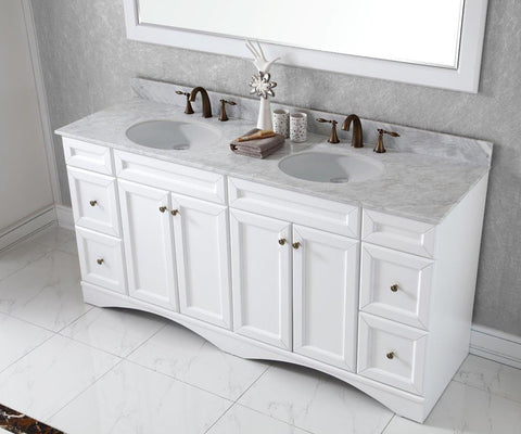 "Talisa 72"" Double Bathroom Vanity ED-25072-WMRO-ES"