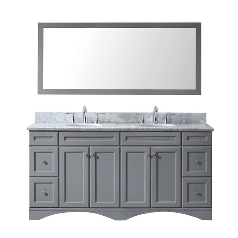 "Talisa 72"" Double Bathroom Vanity ED-25072-WMRO-GR"