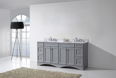 "Talisa 72"" Double Bathroom Vanity ED-25072-WMSQ-ES"