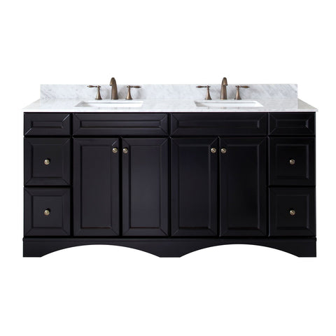 "Talisa 72"" Double Bathroom Vanity ED-25072-WMSQ-ES-NM"