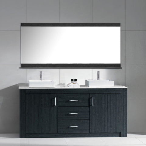 "Image of Tavian 60"" Double Bathroom Vanity KD-90060-G-GO"
