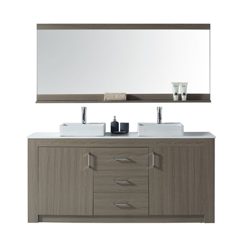 "Tavian 72"" Double Bathroom Vanity KD-90072-S-GO"