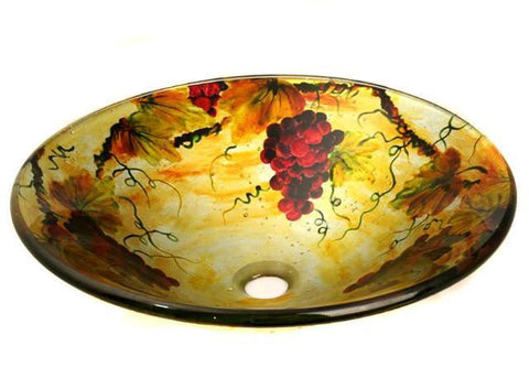 TEMPER GLASS VESSEL SINK ZA-158