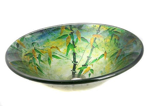 TEMPER GLASS VESSEL SINK ZA-159
