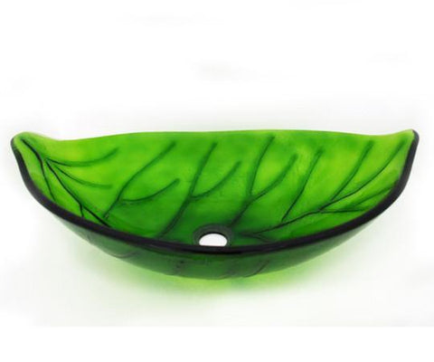 TEMPER GLASS VESSEL SINK ZA-162